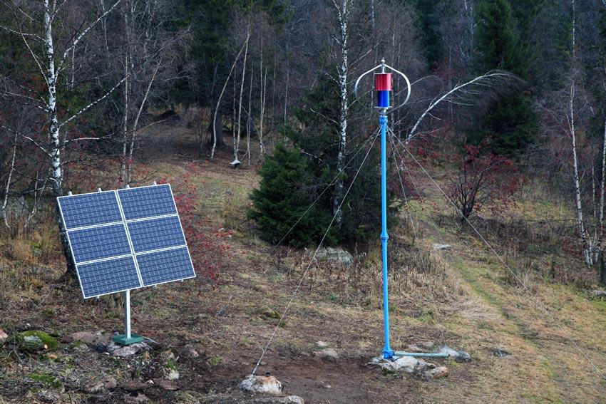 На Южном Урале установлена ветро-солнечная электростанция