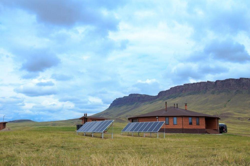 Солнечная электростанция в Хакассии